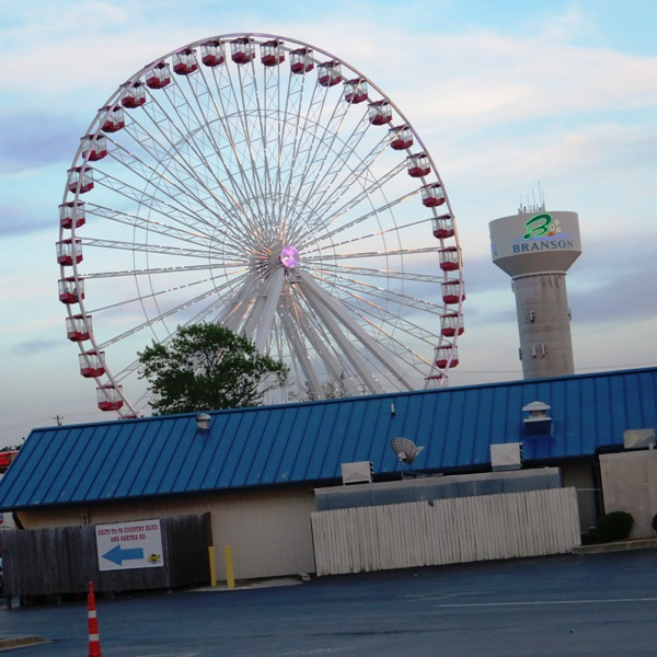 The world renowned Ferris Wheel in Branson, MO provides a fun ride alongside wondrous views. Photo by Victor Block