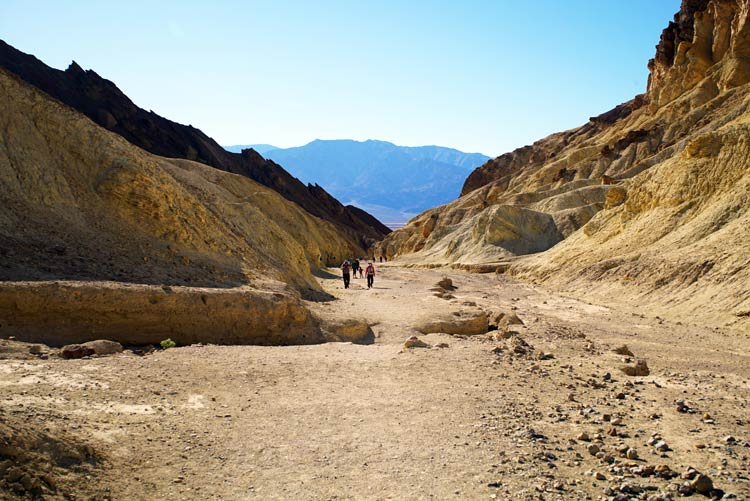 Golden Canyon in Death Valley National Park