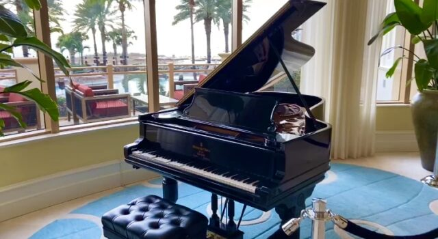 Sandpearl Resort piano