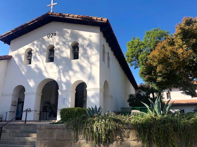 Mission San Luis Obispo. Photo by Claudia Carbone