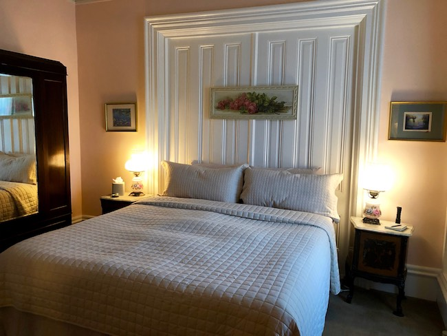 Room at Olallieberry Inn. Photo by Claudia Carbone