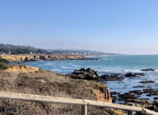 Moonstone Beach in Cambria. Photo by Claudia Carbone