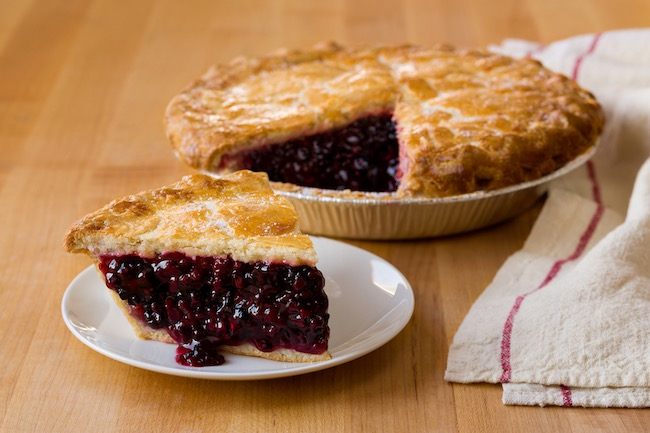 Linn's Olallieberry Pie. Photo courtesy of Cambria Tourism Board