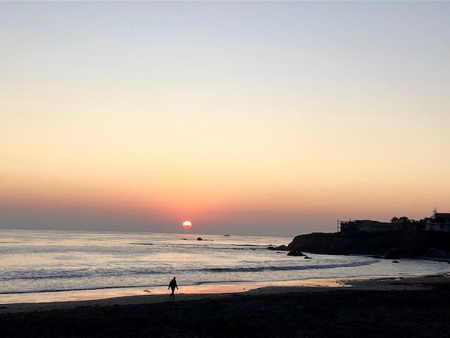 Cayucos beach. Photo by Claudia Carbone