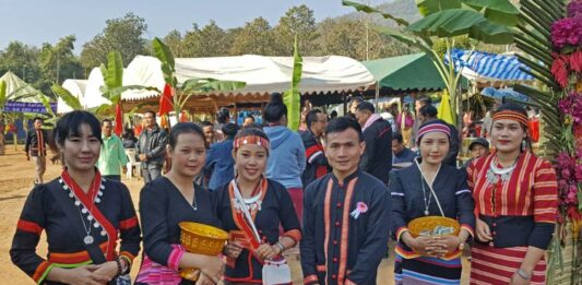 Immersed in the Spirit of the Khmu's New Year Festival