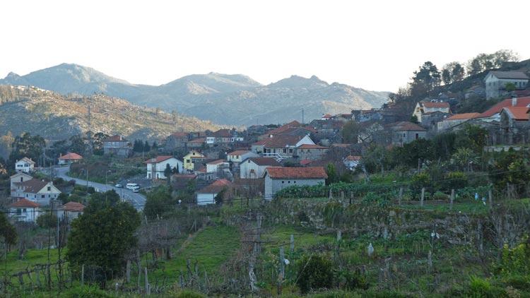 The village of Parada, in Portugal's far north