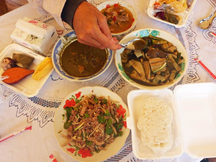 Traditional Foods at the Festival