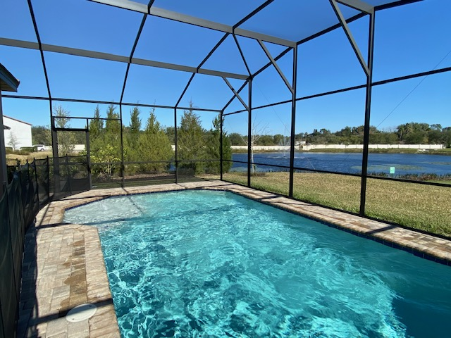 screened patio pools Balmoral