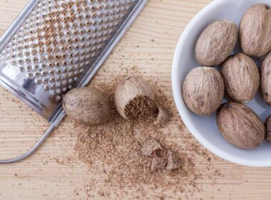 Nutmeg is grown in Grenada