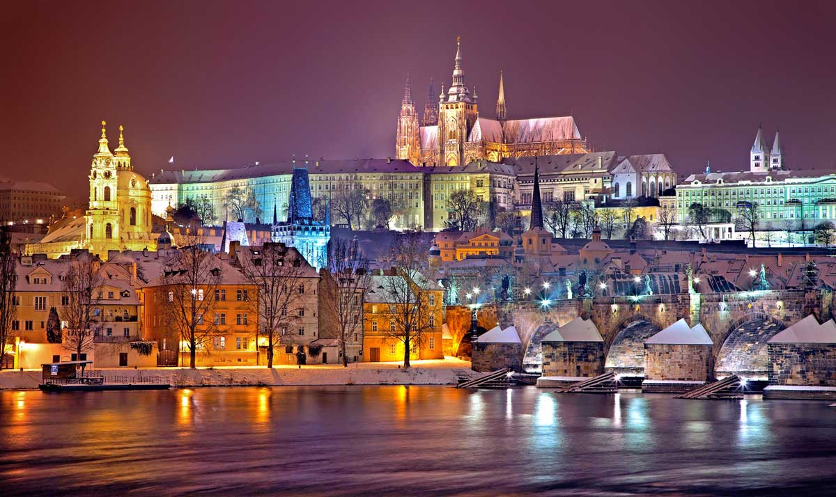 Prague, Czech Republic can be an affordable destination, especially in the spring or fall.