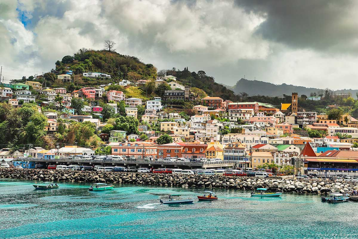 Grenada is an island in the Caribbean that is often called the Spice Isle