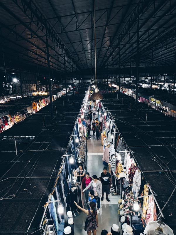 Asean Night Market in Hat Yai