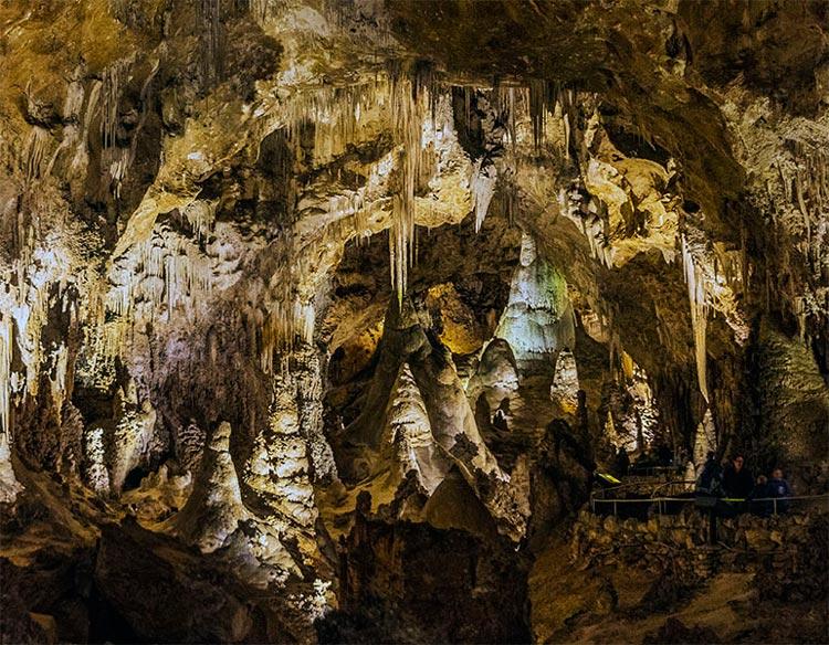 Caveman Junction at the Carlsbad Cavern