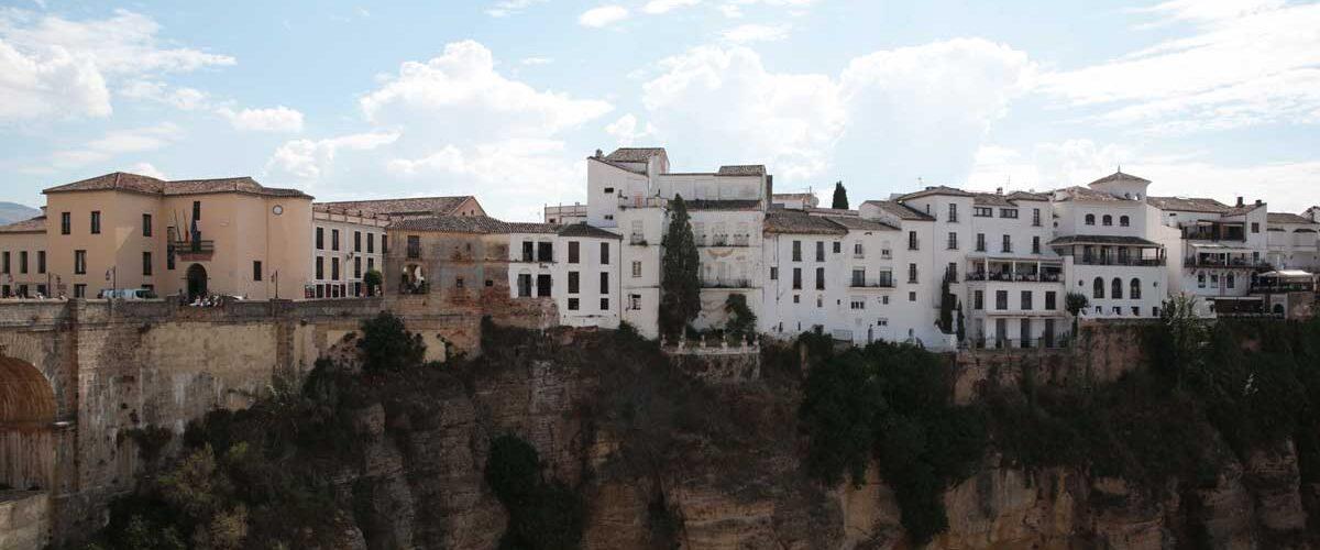 Cliff Dwellings in Ronda, Spain