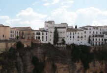 Cliff Dwellings in Ronda, Spain