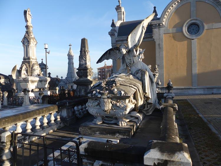 La Carriona Municipal Cemetery Aviles