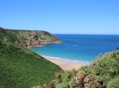 Plémont in all it's glory – one of the most beautiful beaches