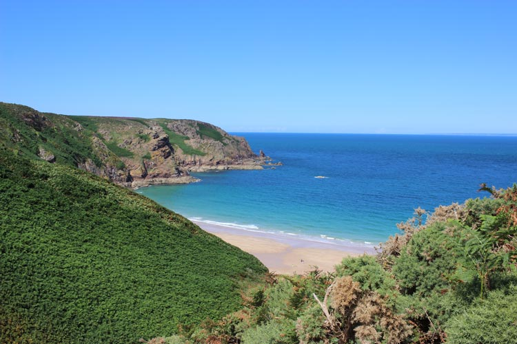 Plémont in all it's glory, one of the most beautiful beaches on the island of Jersey in the Channel Islands