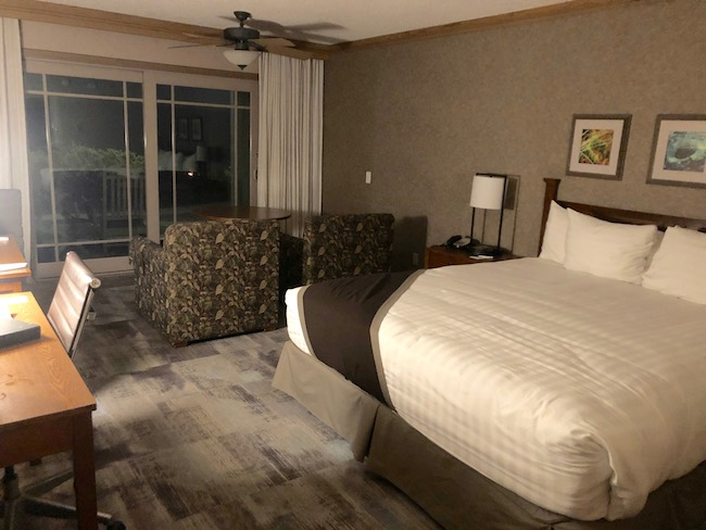Room at Cavalier Oceanfront Resort. Photo by Claudia Carbone