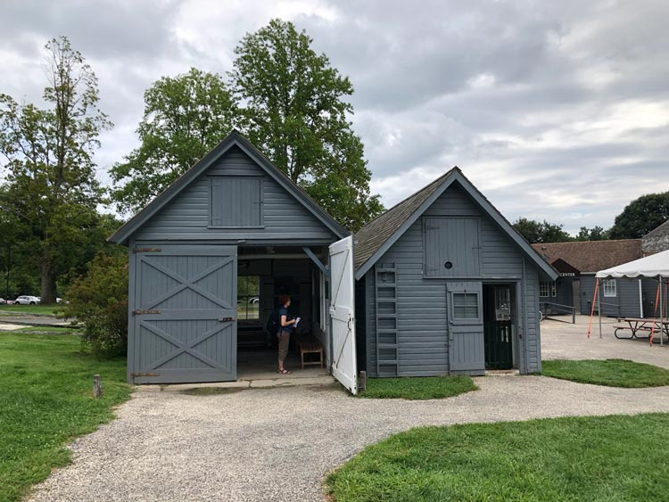The Chicken House and the Farm Shed at Sagamore Hill in Long Island