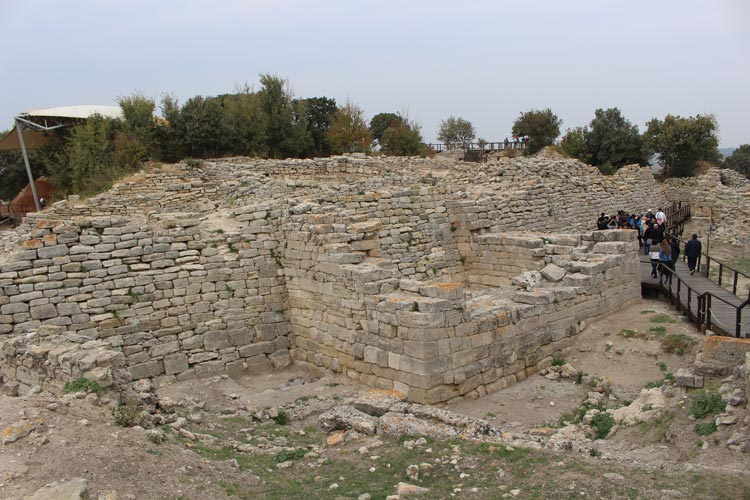 Troy ruins, Turkey