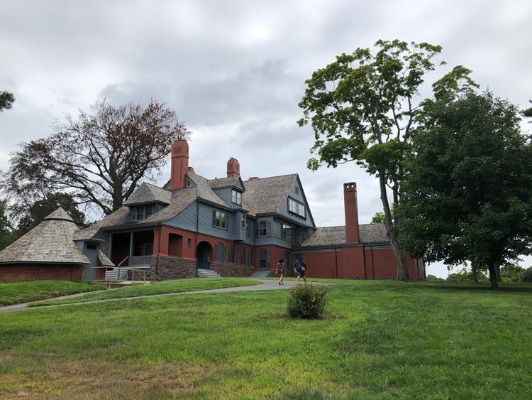 Victorian style mansion