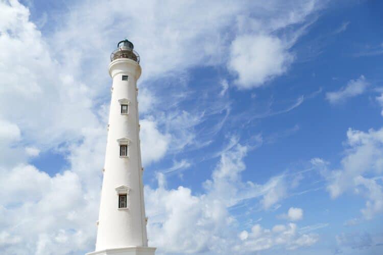 A lighthouse in Aruba