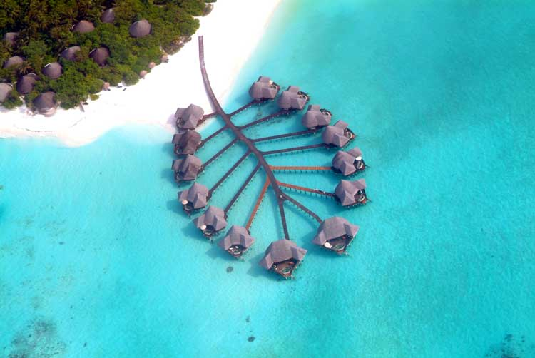 Coco Palm Dhuni Kohlu is located in Baa Atoll in the Maldives