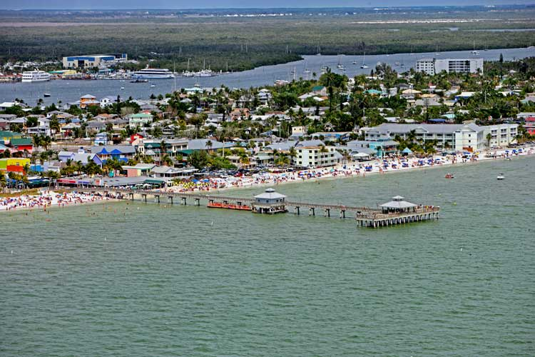 Fort Myers Beach and Pier