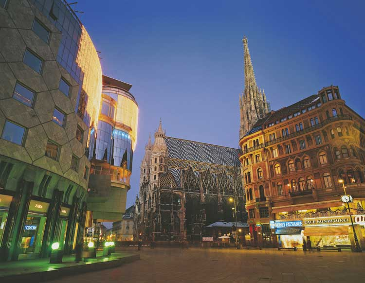 St Stephens Cathedral in VIenna, Austria