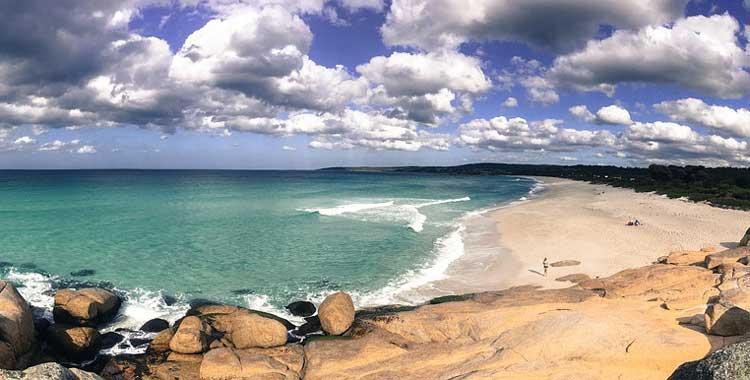Tasmania has many beautiful beaches
