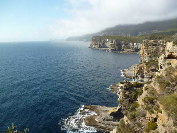 Waterfall Bay Walk in Tasmania