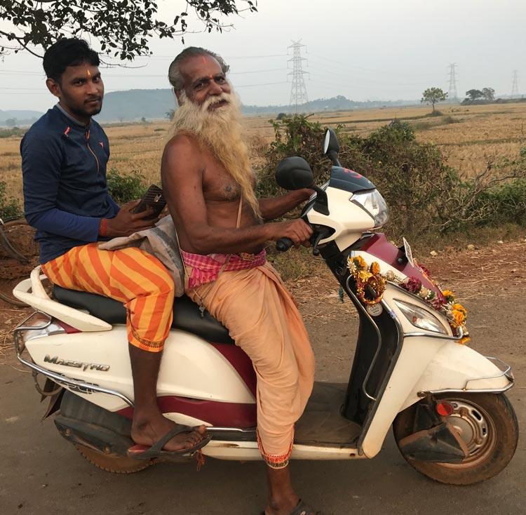 Traveling around the Odisha area.