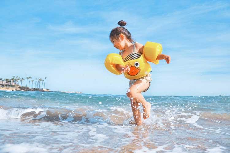Kid-friendly beaches in Florida