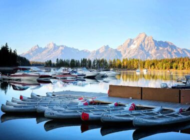 Visit the Grand Tetons in Wyoming