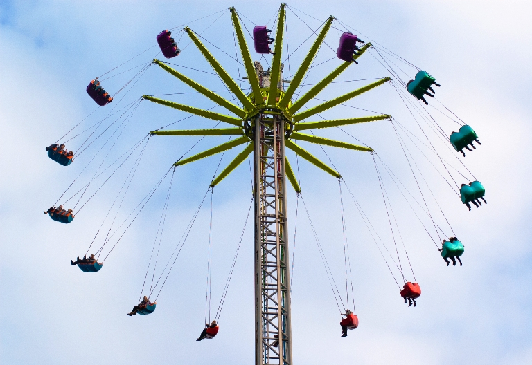 The sheer number and variety of rides are mesmerizing. Photo by Nicola Ferrari/Dreamstime.com