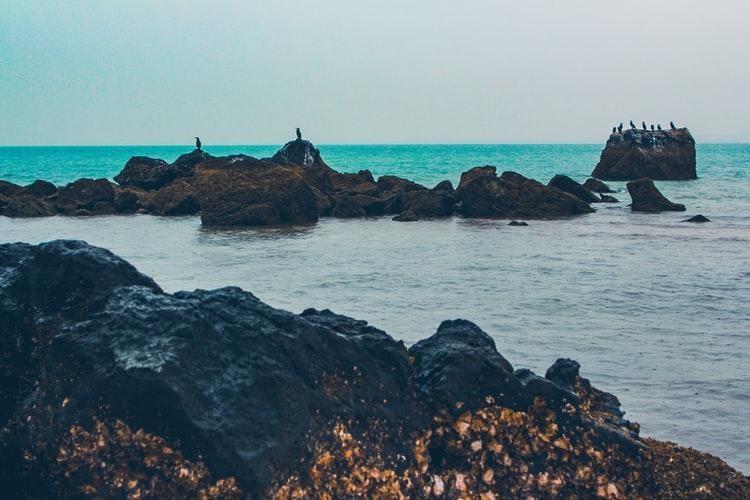 Strait of Hormuz, between Oman and Iran