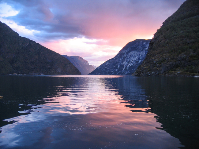 Fjord scenery in Norway is Typical of Spectacular Vistas that Greet Passengers taking Virtual Train Trips. Photo by Luca Costa Giovanoio/Dreamstime.com