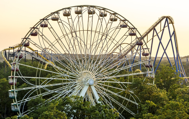 The Ferris Wheel appeals to the whole family. Photo by Marcos Souza/Dreamstime.com
