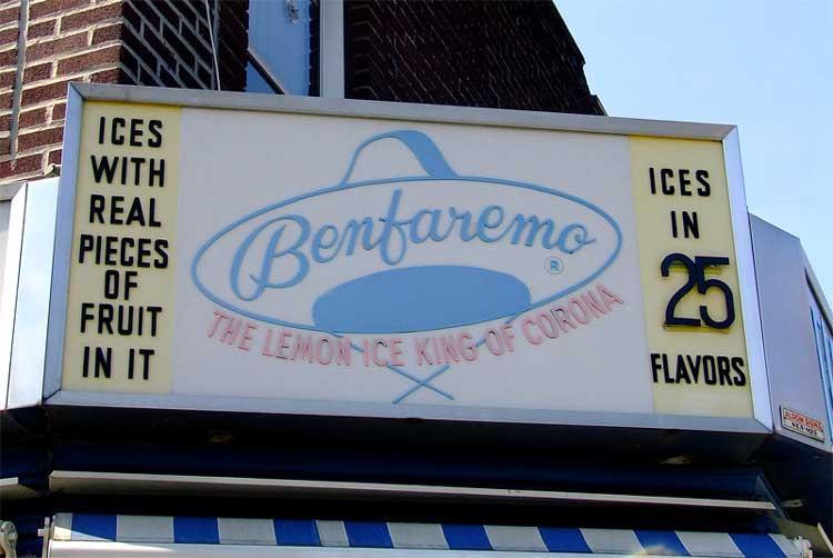 Benfaremo the Lemon Ice King of Corona