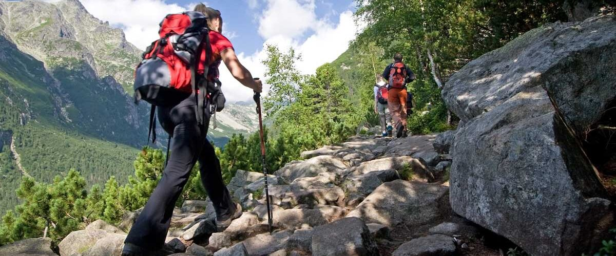Top hiking trails in the USA