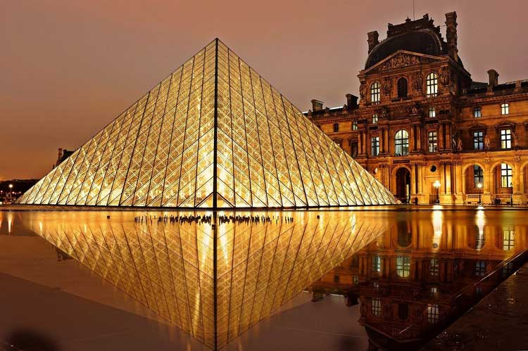 Visit the Louvre in Paris