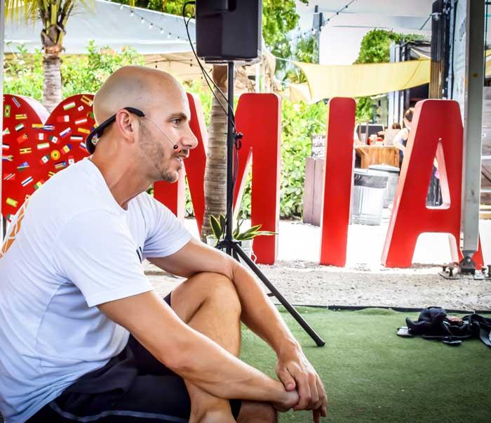Adrian Molina of Warrior Flow Yoga