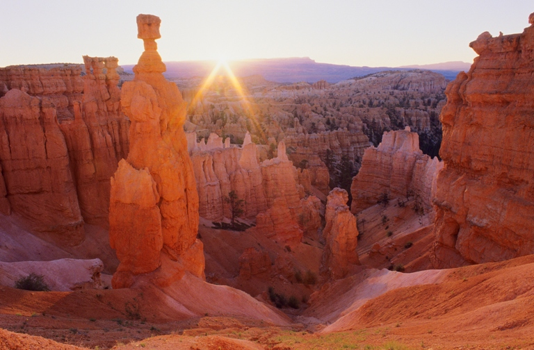 The famous hoodoos of Utah's Bryce National Park are a singular geologic formation. Photo courtesy of Bryce National Park