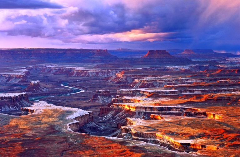 The scenic expanse of Canyonlands National Park is beyond breathtaking. Photo by Tom Till, courtesy of Canyonlands National Park