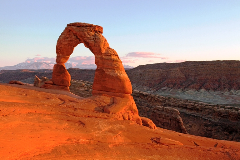Delicate Arch in Arches National Park, Utah. Photo by Matt Morgan, courtesy of Arches National Park