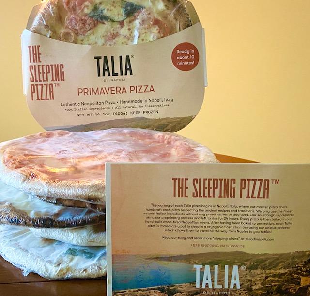 Talia frozen pizza