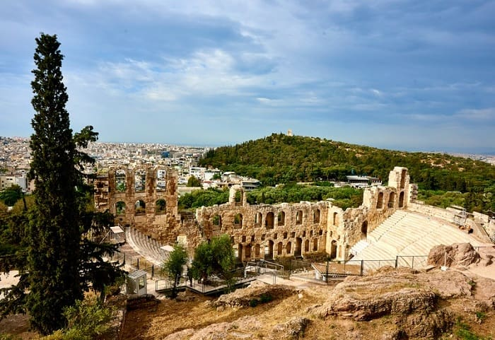 Odeon of herodes atticus, Ancient Greece