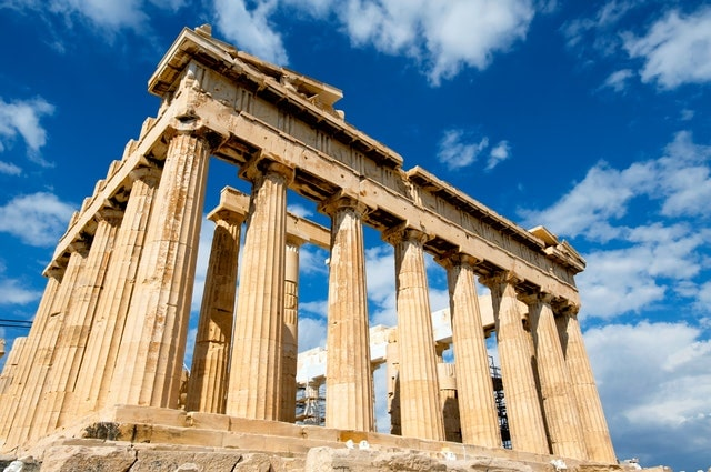 The Parthenon is a top attraction in Greece.