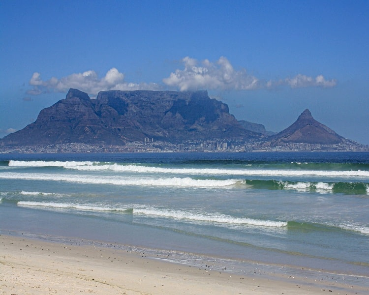 The Mezmarizing View of Table Mountain in Africa